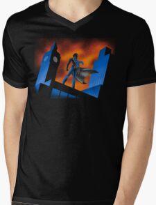 Sherlock Cartoon Mens V-Neck T-Shirt