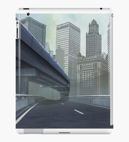 TO THE CITY iPad Case/Skin