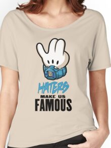 Mickey Hand Famous Women's Relaxed Fit T-Shirt