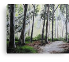 Morning breeze Canvas Print
