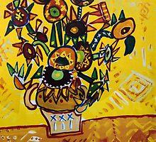 My Sunflower by Hassan Hamdi