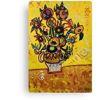 My Sunflower Canvas Print