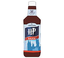 Harry Potter HP Sauce Tee Photographic Print