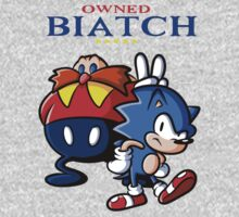 Sonic Owned Biatch by DavDezign