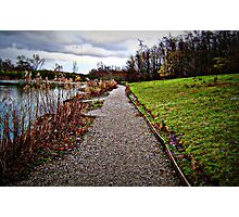 By the lake Photographic Print