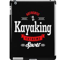 Kayaking Extreme Sport W&R Art iPad Case/Skin