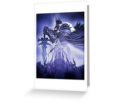 Wrath of the Lich King Greeting Card