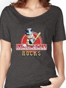 Monopoly Rocks Women's Relaxed Fit T-Shirt