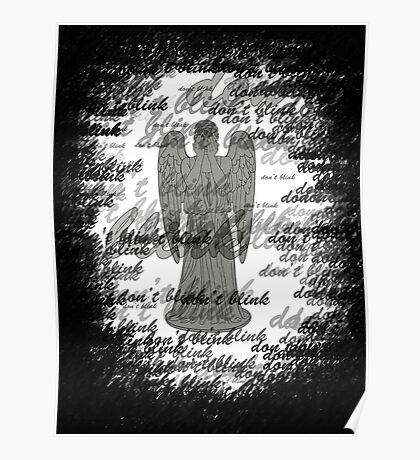 Weeping Angel -Don't Blink (scatter script) Poster