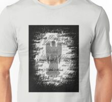 Weeping Angel -Don't Blink (scatter script) Unisex T-Shirt