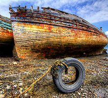 Salen Wrecks by English Landscape Prints