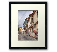 Road to majesty Framed Print