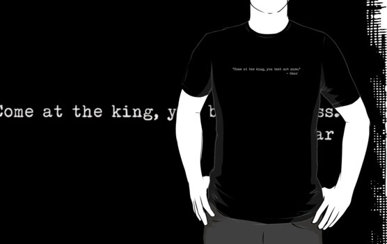 "The Wire - ""Come at the king, you best not miss."" by lordbiro"