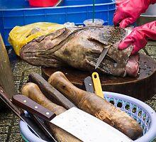 fish market by Anne Scantlebury