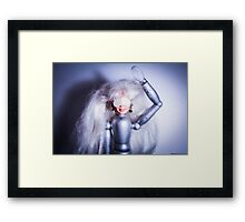 Barbie's blind Framed Print