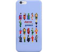 8 bit Justice iPhone Case/Skin