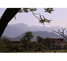Rural scene, Laos Photographic Print