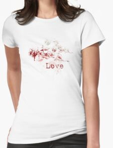 Romantic Pen and Ink Roses T-Shirt