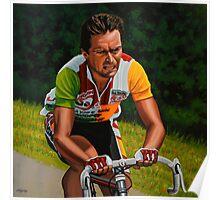 Bernard Hinault painting Poster