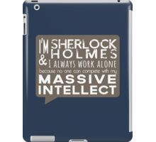 Massive Intellect iPad Case/Skin