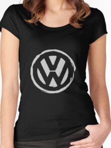 VW Grungy Women's Fitted Scoop T-Shirt