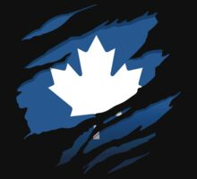 Canada Blue Leaf by northsidelife