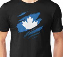 Canada Blue Leaf Unisex T-Shirt