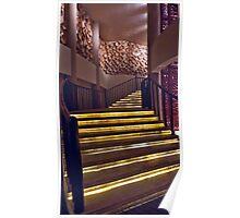 Serengeti Stairway Poster