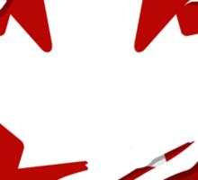 Canada Red Leaf Sticker
