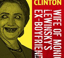 Hillary Clinton Is Scary by morningdance