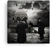 The Pilgrimage... Canvas Print