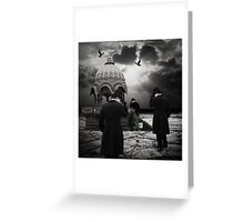 The Pilgrimage... Greeting Card