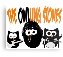 The Owl-Ling Stones Metal Print