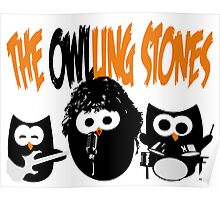 The Owl-Ling Stones Poster