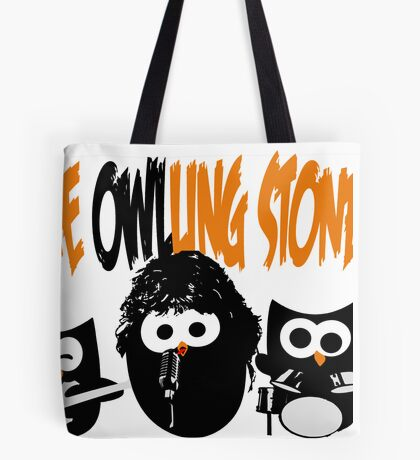 The Owl-Ling Stones Tote Bag