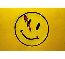 Watchmen Comedian Yellow Photographic Print