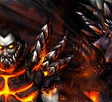 Deathwing the Destroyer by Lirhya