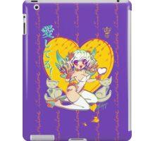 .: I love you! :. Angel Kitty iPad Case/Skin