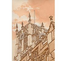 Holy Trinity Church (In Tea and Coffee) Photographic Print
