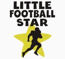 Little Football Star Kids Tee