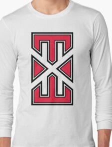 red_white_varsity.EXE Long Sleeve T-Shirt