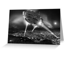 No farewell only endless goodbye Greeting Card