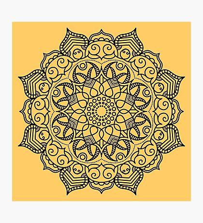 Dense Mandala Photographic Print