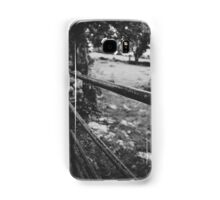 Black & White countryside Samsung Galaxy Case/Skin