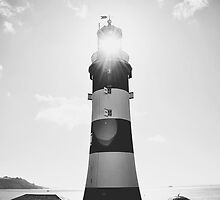Plymouth Lighthouse by SassySnark