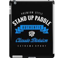 Stand Up Paddle Extreme Sport W&B Design Art iPad Case/Skin