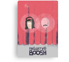 The Mighty Boosh Minimal Poster Canvas Print