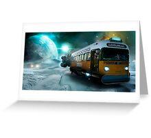 Futuristic revivals-Uranus Greeting Card