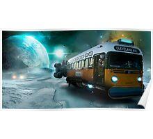 Futuristic revivals-Uranus Poster