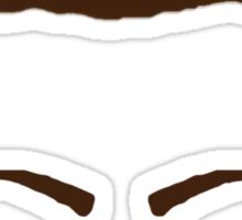 Ron Swanson Bacon Mustache  Sticker